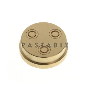 114 - 7mm Penne (Ridged) Die with Knife and Support Bracket for Dolly