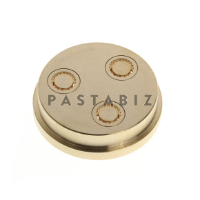 084 - 8mm Rigatoni Die for P3 w/15% thickness