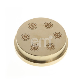 010 - 2.1MM SPAGHETTI DIE FOR TR110. Also fits Omcan PM-IT-0080 (13286) and Rosito Bisani TR110
