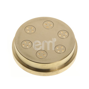 021 - 3.2MM LINGUINI DIE FOR TR75. Also fits Omcan PM-IT-0008 (13364), and Rosito Bisani TR75