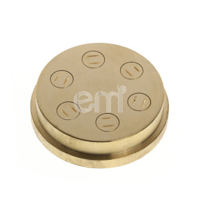 028 - 6MM FETTUCCINE DIE FOR TR95. Also fits Omcan PM-IT-0025 (16643) / PM-IT-0025-T (13236), Rosito Bisani TR95, Dominioni P45, Italpast MAC30, Italgi P17 & P20, La Prestigiosa 2000-2500-Easy
