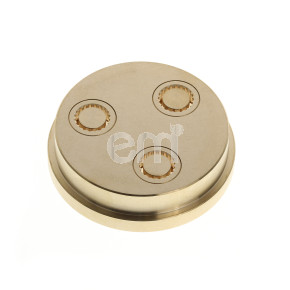 089 - 10MM RIGATONI DIE FOR TR70. Also fits Omcan PM-IT-0004 (13320).