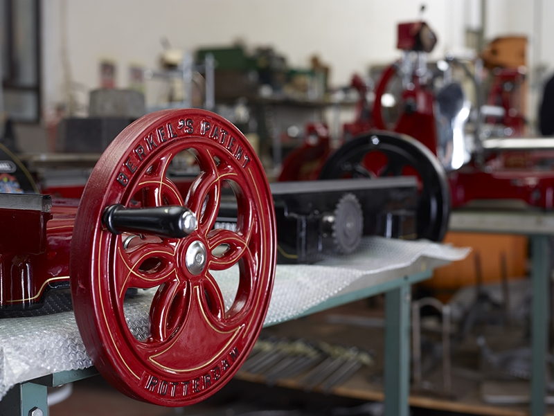 Restored Antique Meat Slicers